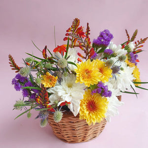 Chrysanthemum Basket India