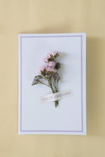 Load image into Gallery viewer, Dry Flower Cards - You're Awesome!
