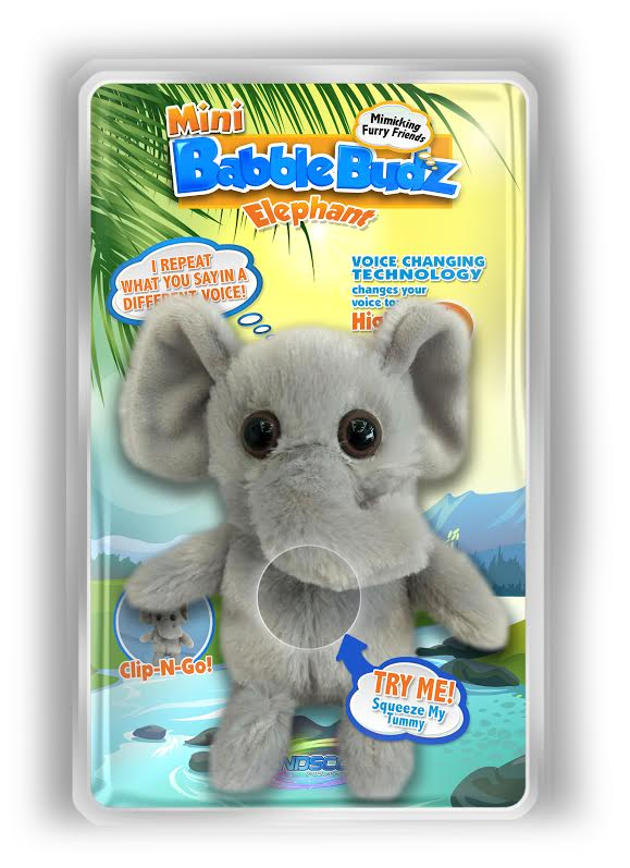 Mini Babble Budz Elephant
