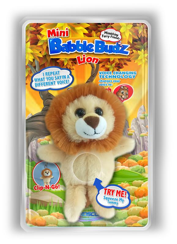 Mini Babble Budz Lion