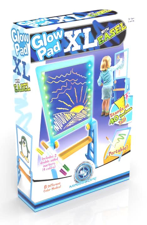 Glow Pad XL w/Easel Blue/Orange