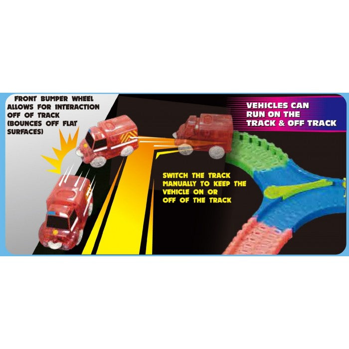 TWISTER TRACKS 254 PIECE BUMP & GO EMERGENCY SERIES