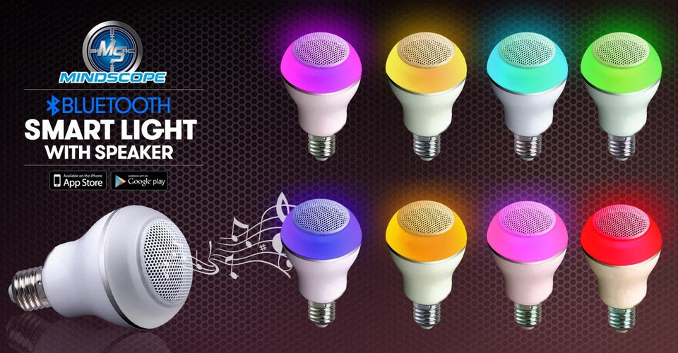 Smart Light up Bulb with Speaker