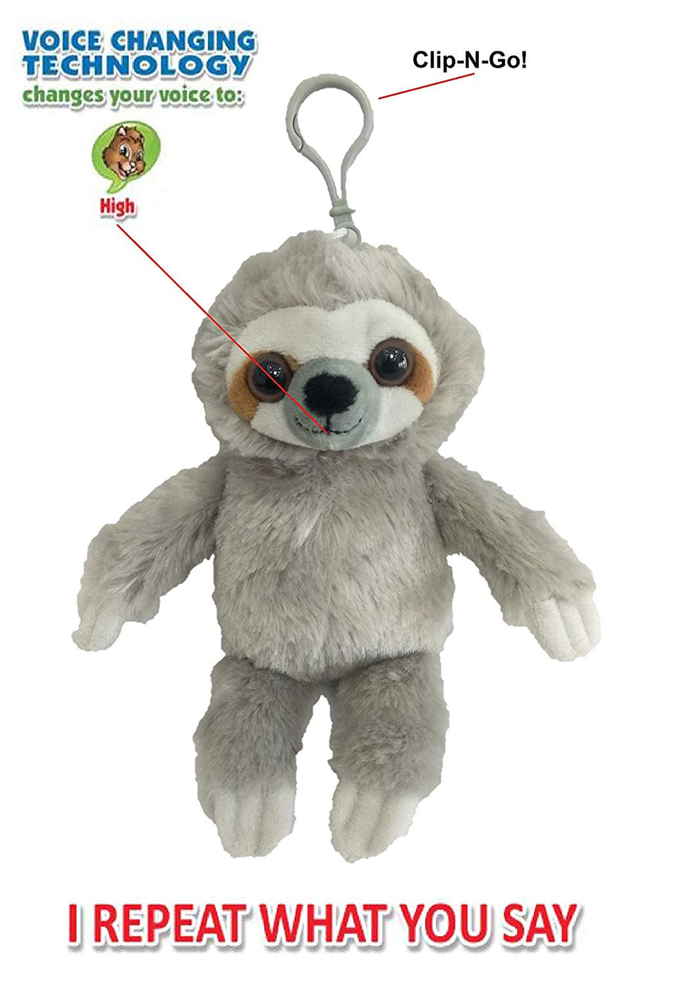 Mini Babble Budz Sloth