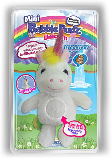Mini Babble Budz Unicorn