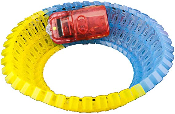 Twister Tracks Track Pack 160 - 8 ft. Add-On Neon Glow Track