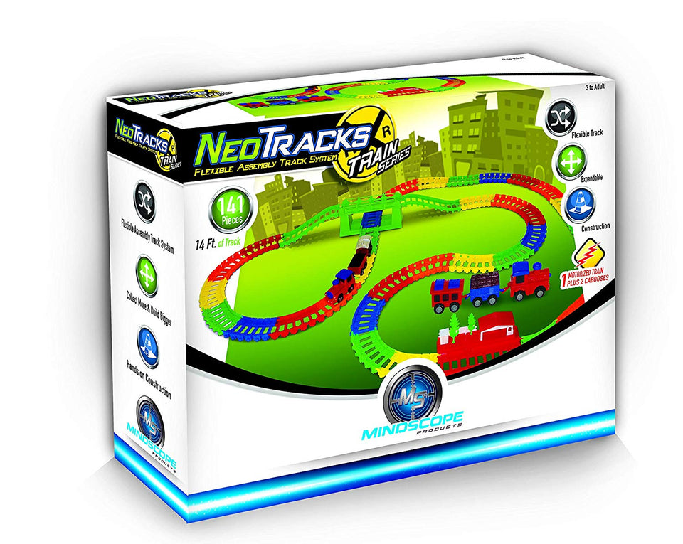Neo Tracks Train 141 Piece Set (14 ft of track)