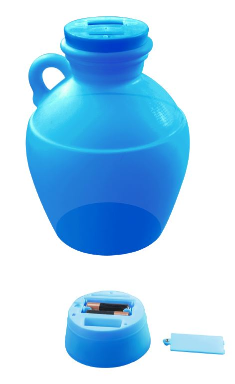 Money Jug Blue