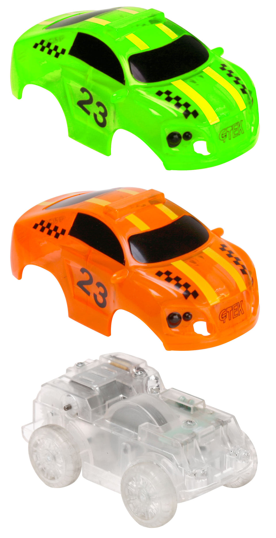 GreenTek Light Up Friction Vehicles - Race