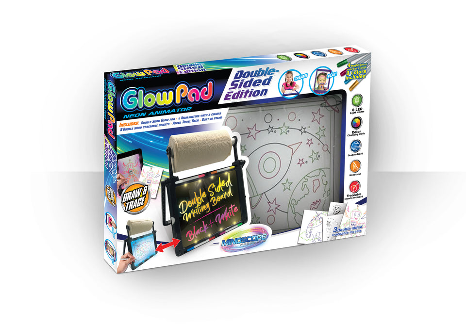 Double Sided Glow Pad Black