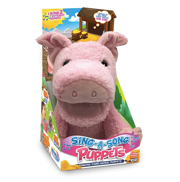 Sing-A-Song Puppets Pig
