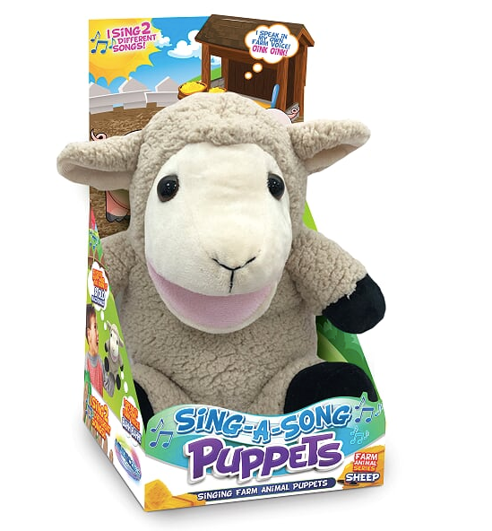 Sing-A-Song Puppets Sheep