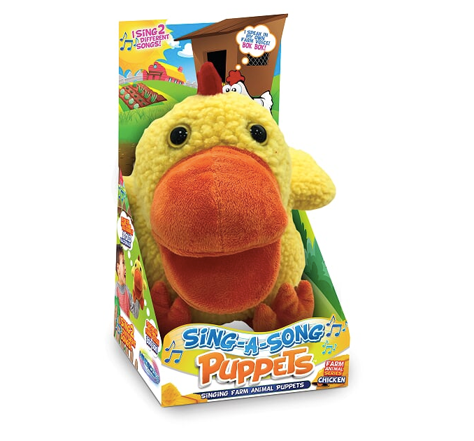 Sing-A-Song Puppets Chicken