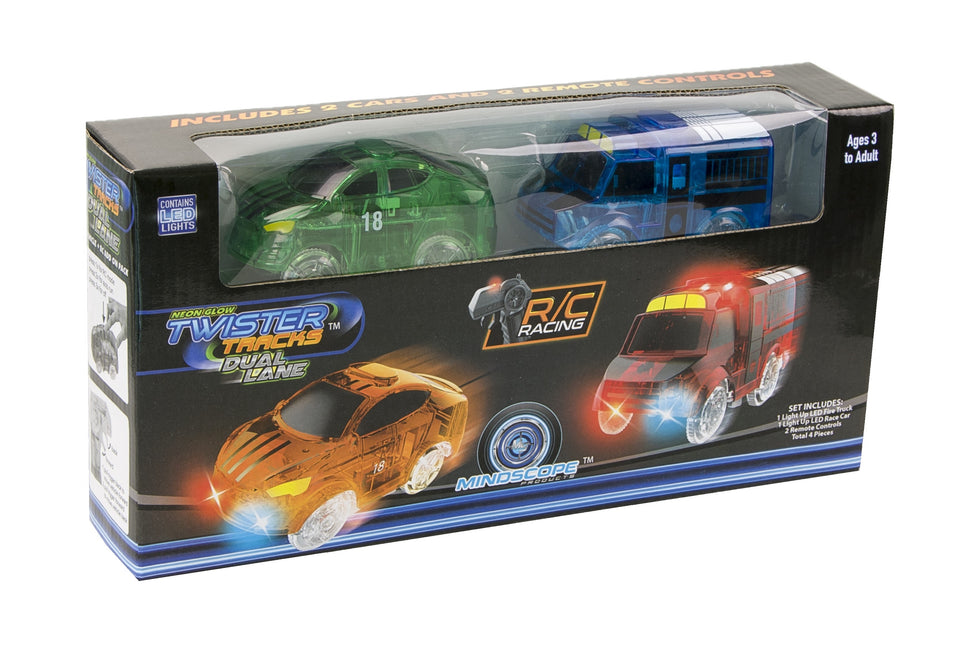 Twister Tracks Dual Lane Car Add-On Set
