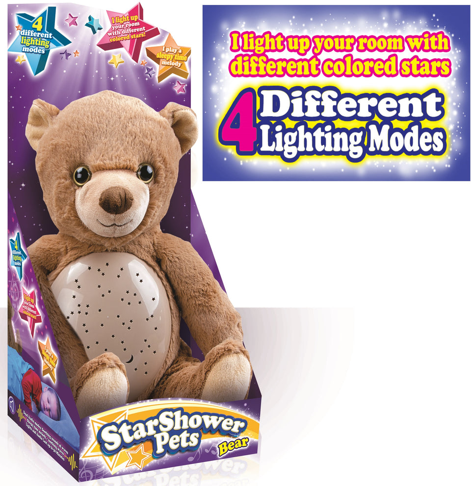 StarShower Belly Projector Plush Bear