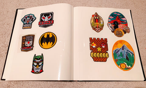 Patch display book