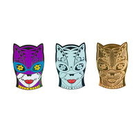 Catwoman Day of the Dead Enamel Pin