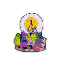 Disney The Nightmare Before Christmas Snow Globe Enamel Pin