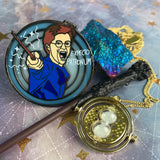 Expecto Patronum Potter Stained Glass Enamel Pin