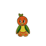 Fantasy Plush Pals - Orange Bird Enamel Pin