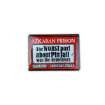 Azkaban Pin Jail Enamel Pin