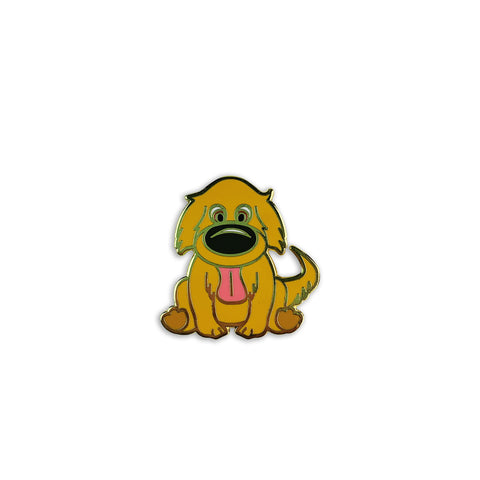 Golden Retriever Puppy Enamel Pin
