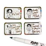 The Office Dry Erase Enamel Pin - Series One