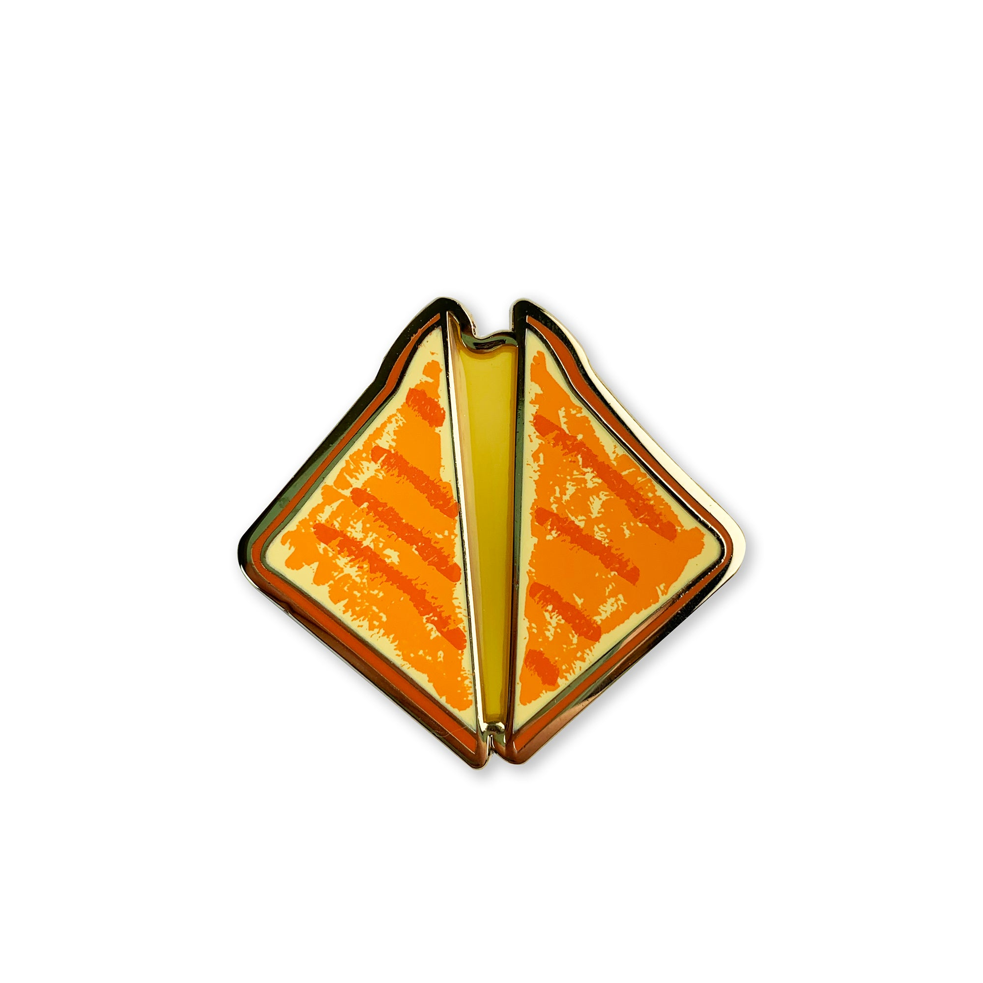 Grilled Cheese Enamel Pin