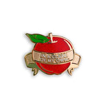 Teacher Apple Pin - In a Class of My Own