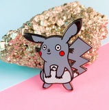 Pikachu & Totoro Mash-up Enamel Pin