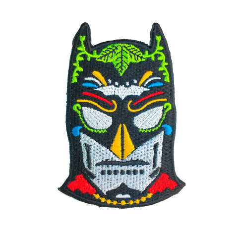 Batman Day of the Dead Embroidered Patch