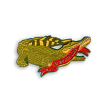 Animal Meme Series - Murder Log Crocodile Enamel Pin