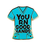 Nurse Appreciation Scrubs Enamel Pin