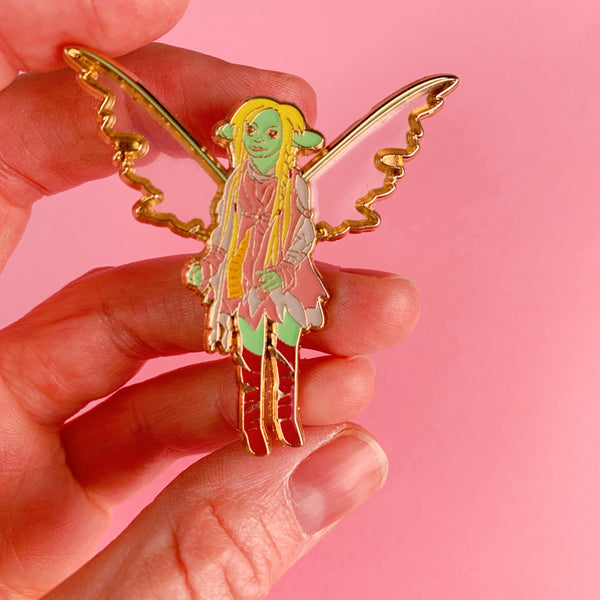 Dark Crystal Deet the Gelfling Enamel Pin