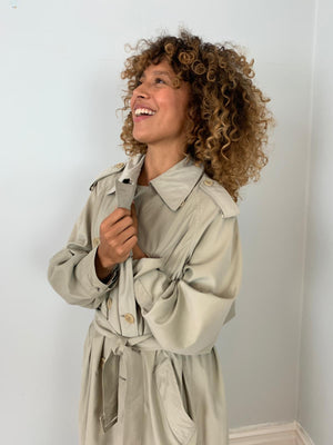Maxmara weekend summer lightweight trench coat