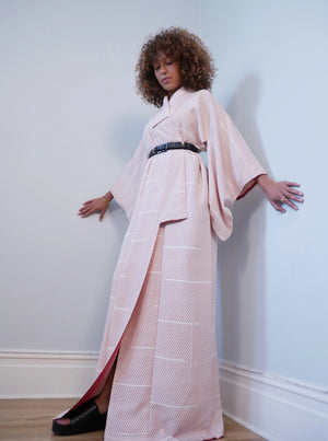 Japanese 1930's silk kimono - SOLD at auction to raise money for BLACK MINDS MATTER