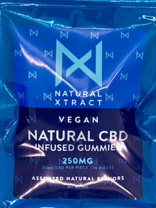Vegan Natural CBD infused Gummies