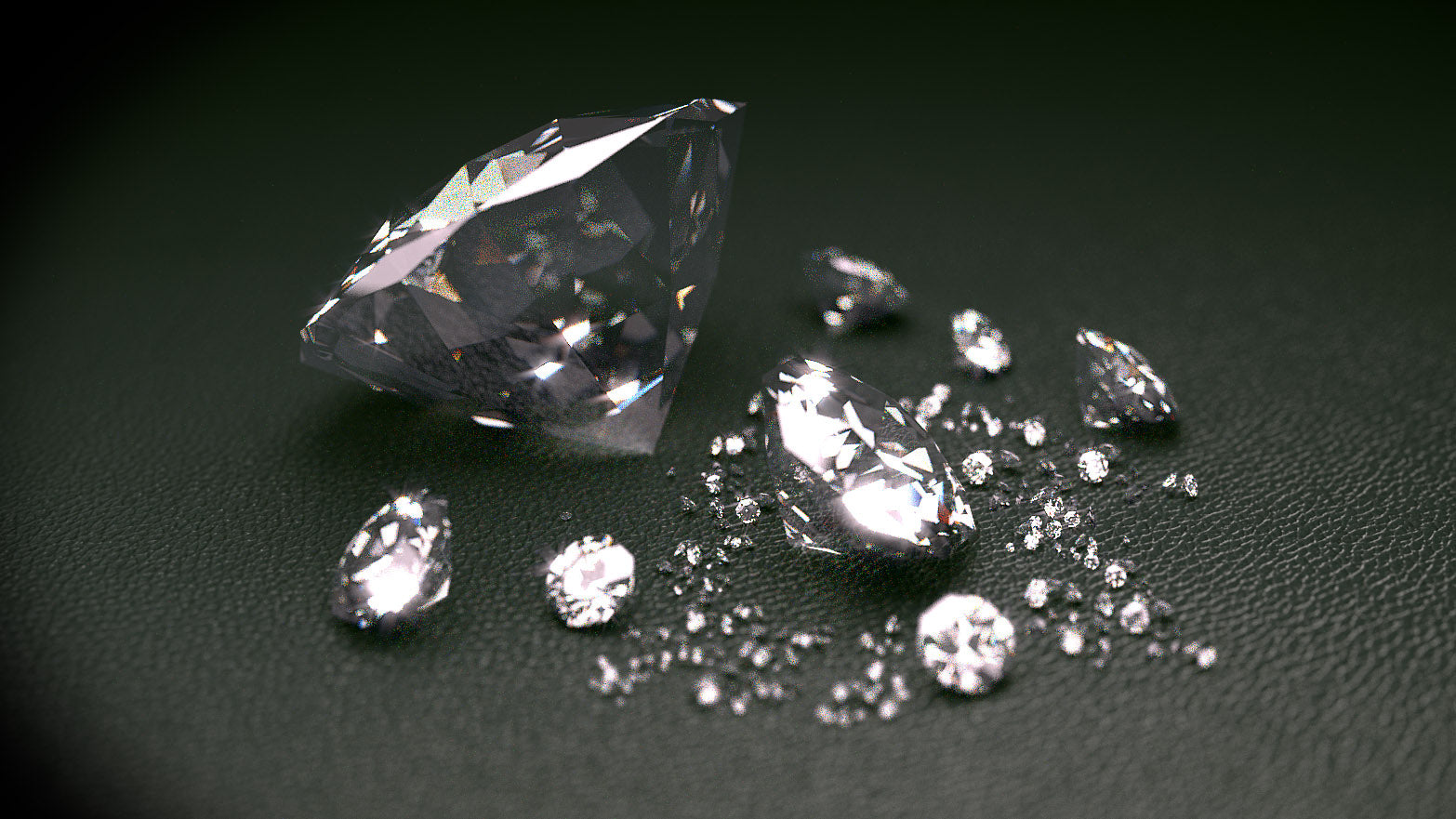 diamond faceted gemstone metaphysical healing properties & meaning