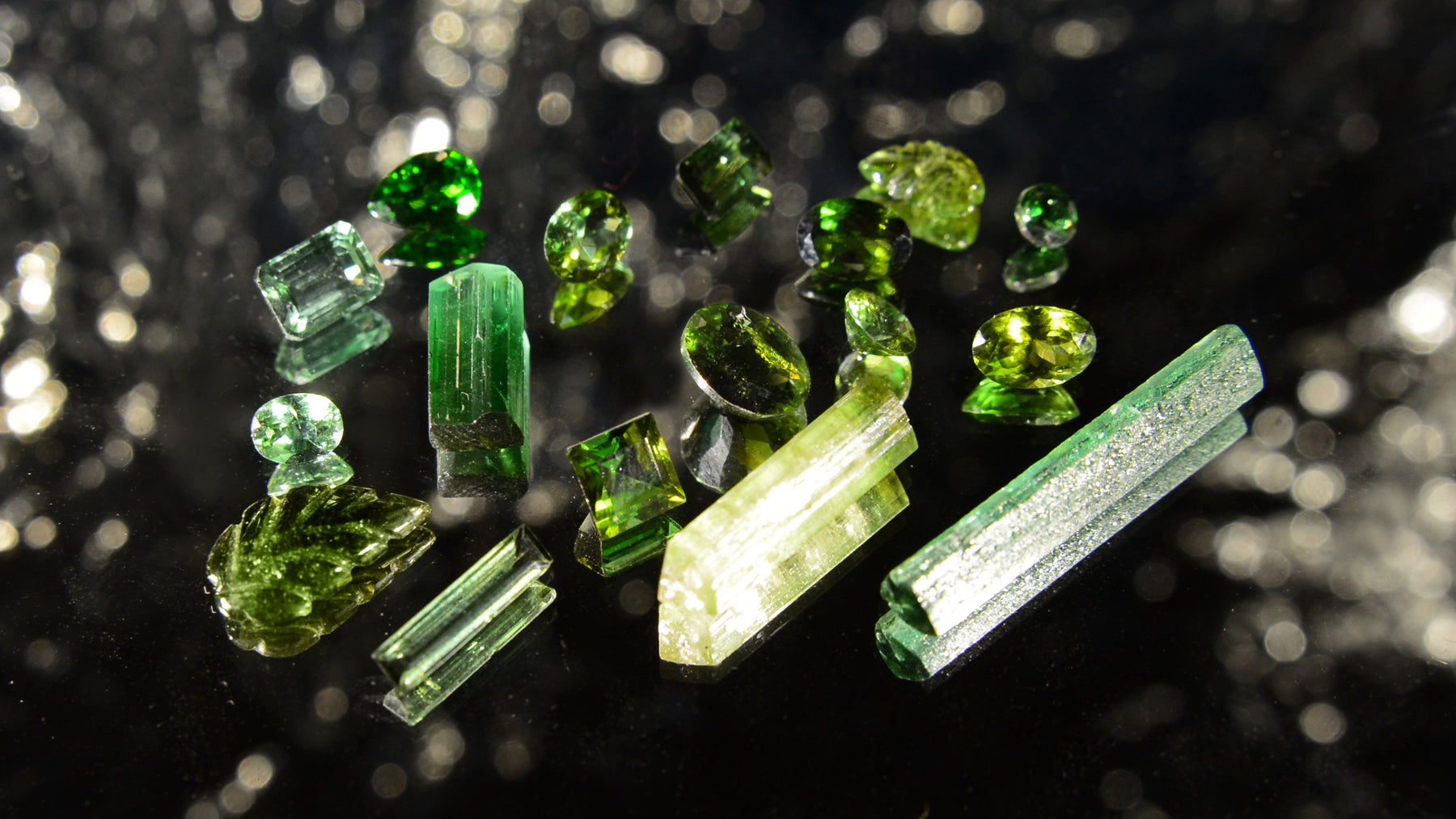 Green Tourmaline verdelite gemstone crystal healing metaphysical properties & meaning