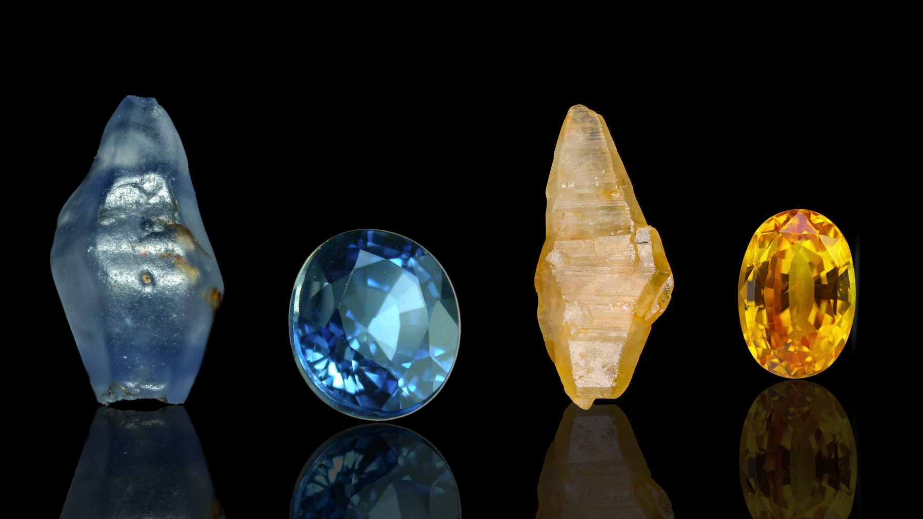 Sapphire crystal gemstone healing and energetic properties and meaning