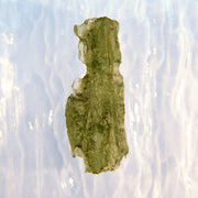 Authentic elongated Natural Raw Moldavite 2.8g