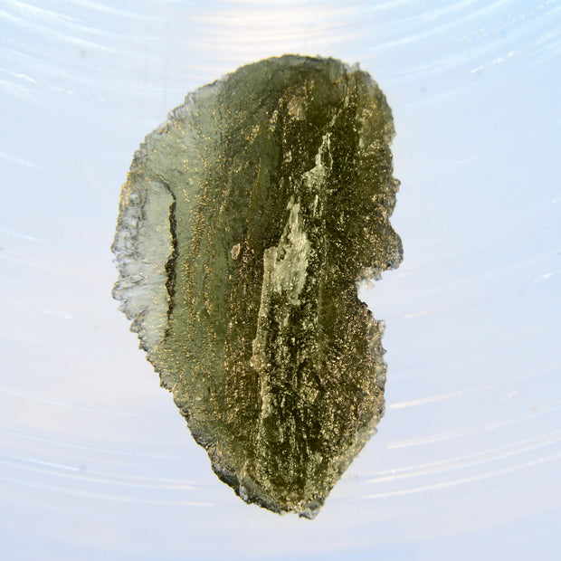 Beautifully Sculpted Moldavite 7.1g