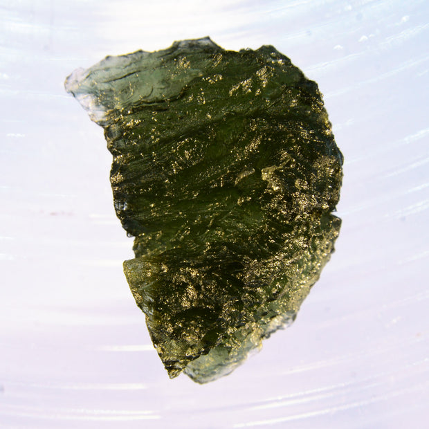 Deeply Etched Museum Grade Moldavite 5.8g