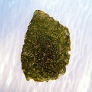 Deeply Etched Texture Museum Grade Moldavite 8.7g