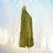 Wand Shaped Genuine Moldavite Stone 4.5g