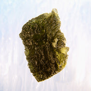 Deeply Etched Texture Museum Grade Moldavite Stone 11g