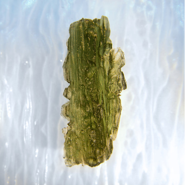 Bright Green Authentic Museum Grade Moldavite 4.6g