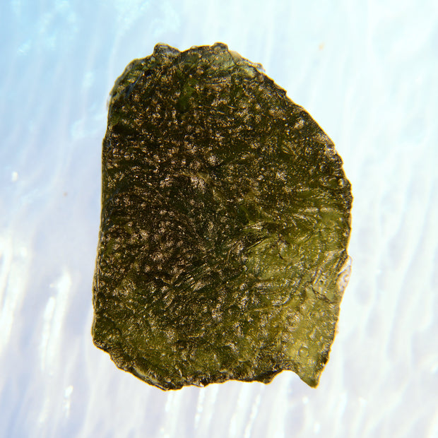 Deeply Etched Raw Moldavite Specimen 9.8g