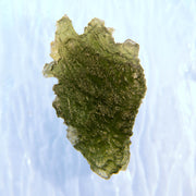 Spikey Bright Green Moldavite Gem 6.5g
