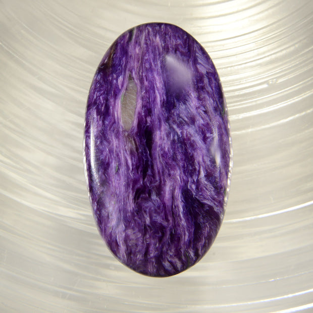 Large Premium Quality Charoite Cabochon from the Ural Mountains 42 carats